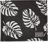 Dolce & Gabbana Black Leaves Wallet