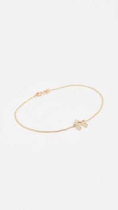 Jennifer Meyer 18k Gold Wishbone Bracelet