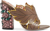 Gucci Crossover leather sandal