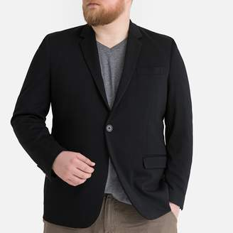 La Redoute Collections Plus Straight Cut Blazer with Single-Breasted Buttons