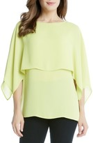 Karen Kane Women's Double Layer Top
