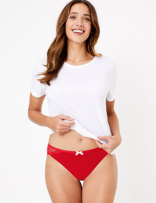 Marks and Spencer Fruit Lace High Leg Knickers