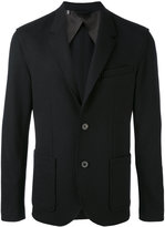 Lanvin blazer jacket - men - Cotton/Elastodiene/Polyamide/Wool - 46