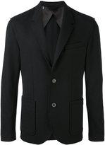 Lanvin blazer jacket - men - Wool/Polyamide/Elastodiene/Cotton - 48