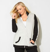 Avenue Colorblock French Terry Active Jacket