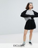 Monki Mini Skater Skirt