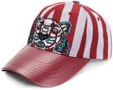 Kenzo striped tiger cap