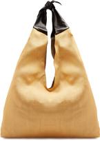 The Row Bindle canvas shoulder bag