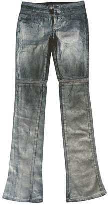 Gianfranco Ferre Metallic Cotton - elasthane Jeans for Women