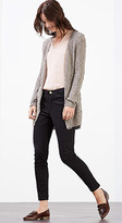 Esprit OUTLET long textured cardigan