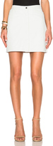 ATM Anthony Thomas Melillo Leather A Line Skirt