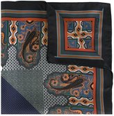 Etro paisley print pocket square