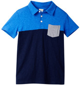 J.Crew Factory J. Crew Factory Short Sleeve Colorblock Polo (Toddler, Little Boys, & Big Boys)