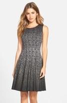 Eliza J Women's Print Ombre Sleeveless Fit & Flare Dress