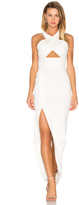 Nicholas Event Ponti Cross Over Gown