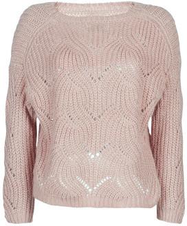 Only ONLHAVANA women's Sweater in Beige