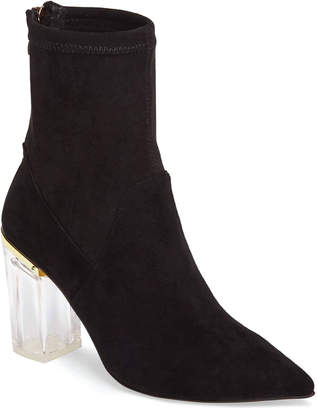 Cecelia New York Emmie Booties with See-Through Heel