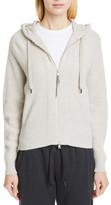 Brunello Cucinelli English Rib Cashmere Hooded Sweater