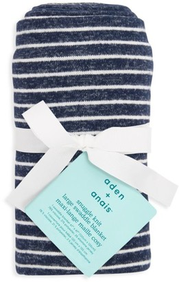 Aden Anais Striped Swaddle Blanket
