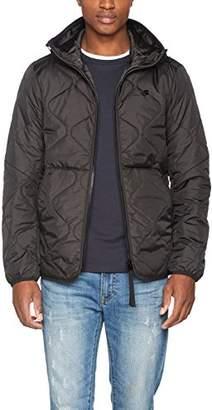 G Star Men's Edla Ts Liner HDD Overshirt Jacket, Black 990, Large