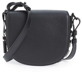 Mackage 'Rima' Leather Crossbody Bag - Black