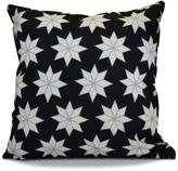 16 x 16 in. Christmas Stars 1 Holiday Navy Blue Pillow