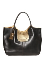 DSquared Montreal Textured Leather Tote