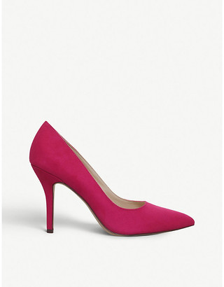 Nine West Flagship pointed-toe suedette courts