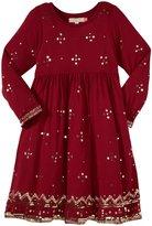 Pink Chicken Maya Dress (Toddler/Kid) - Cerise Pink W/Sequins-5 Years