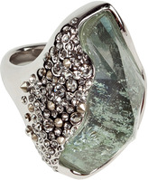 Alexis Bittar Imitation Aquamarine Ring
