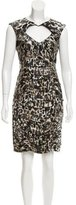 Nanette Lepore Silk Cheetah Print Dress