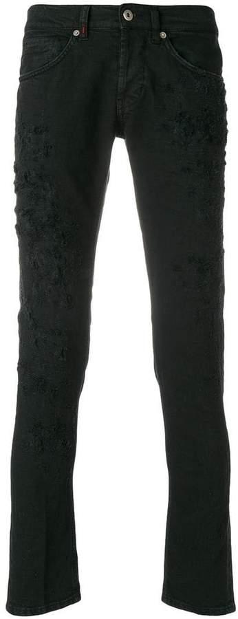 Dondup distressed slim-fit jeans