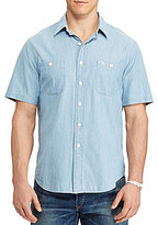 Polo Ralph Lauren Big & Tall Chambray Short-Sleeve Woven Shirt