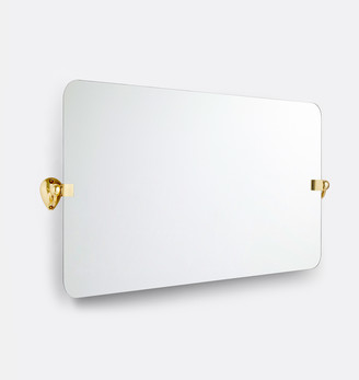 Rejuvenation Linfield Frameless Wide Rectangle Pivot Mirror