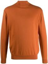 N.Peal mock neck jumper