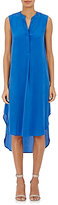 L'Agence Women's Morocco High-Low Tunic Dress-BLUE