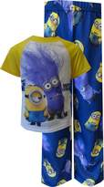 AME Sleepwear Despicable Me 2 Minions Doesn't Play Well With Others Pajamas for boys