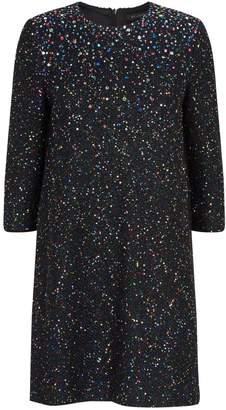 St. John Sequin-Embellished Dress
