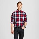 Merona Men's Plaid Long Sleeve Button Down Shirt