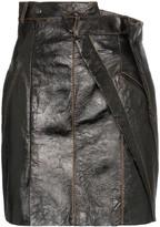 Situationist super high-waisted mini-skirt