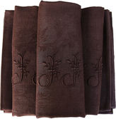 One Kings Lane Vintage Antique French Organic Dyed Napkins,S/10