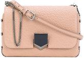 Jimmy Choo City Lockett shoulder bag - women - Lamb Skin/Enamel - One Size