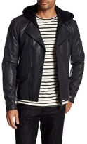 Mackage Mike Hooded Leather Jacket