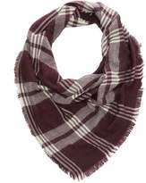 Charlotte Russe Plaid Blanket Scarf