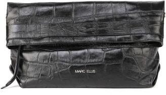 Marc Ellis Dalila L Shoulder Bag In Embossed Leather