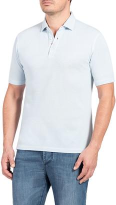 Isaia Men's Pique Polo Shirt