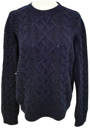 Valentino Navy Wool Knitwear for Women