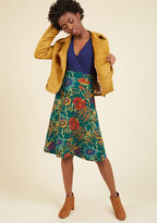 I Am What I Museum Midi Skirt in XL