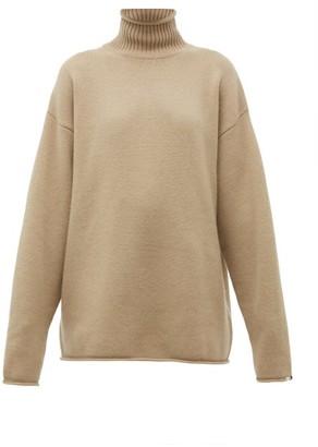 Extreme Cashmere - No. 100 Hippy Stretch-cashmere Sweater - Beige