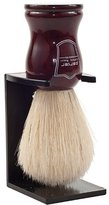 Parker Safety Razor Deluxe 100% Boar Bristle Shaving Brush with Rosewood Handle -- Brush Stand Included